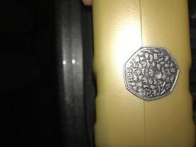 Rare WWF 50p coin for sale