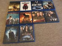 Selection of Blu Ray all with Swedish subtitles
