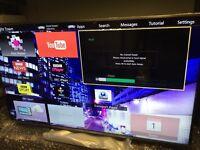 """55"""" Panasonic TX-55AS640B Full HD 1080p Digital Smart 3D LED TV"""