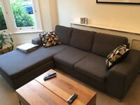 HEALS CORNER L-SHAPE LEFT OR RIGHT SOFA - EXCELLENT CONDITION - MUST GO ASAP - CHEAP DELIVERY - £425