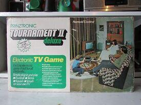 vintage retro tv game prinztronic boxed