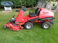 Ride on lawnmower Countax X15 15hp out front deck