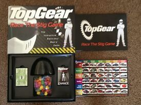 Top Gear: Race the stig board game
