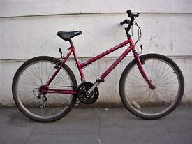 Ladies Mountain/ Commuter Bike by Merida, Burgandy, Rides Good, JUST SERVICED / CHEAP PRICE!!!!!!!!