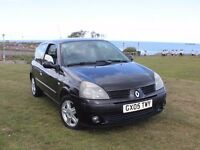 2005 Renault Clio Extreme 1.2 16v Petrol Full MOT Cheap Tax and Insurance in Kent