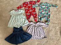 Baby Girls 0-3m bundle