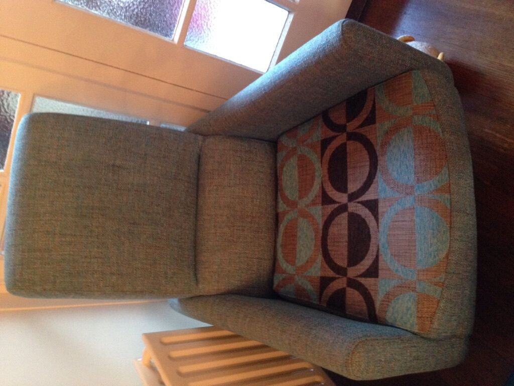 Designer Armchair With Matching Cushions In Malone