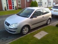 2009 VOLKSWAGEN POLO 1.2E 60, LONG MOT, GOOD HISTORY, 66K, EXCELLENT CONDITION! (not vauxhall, ford)