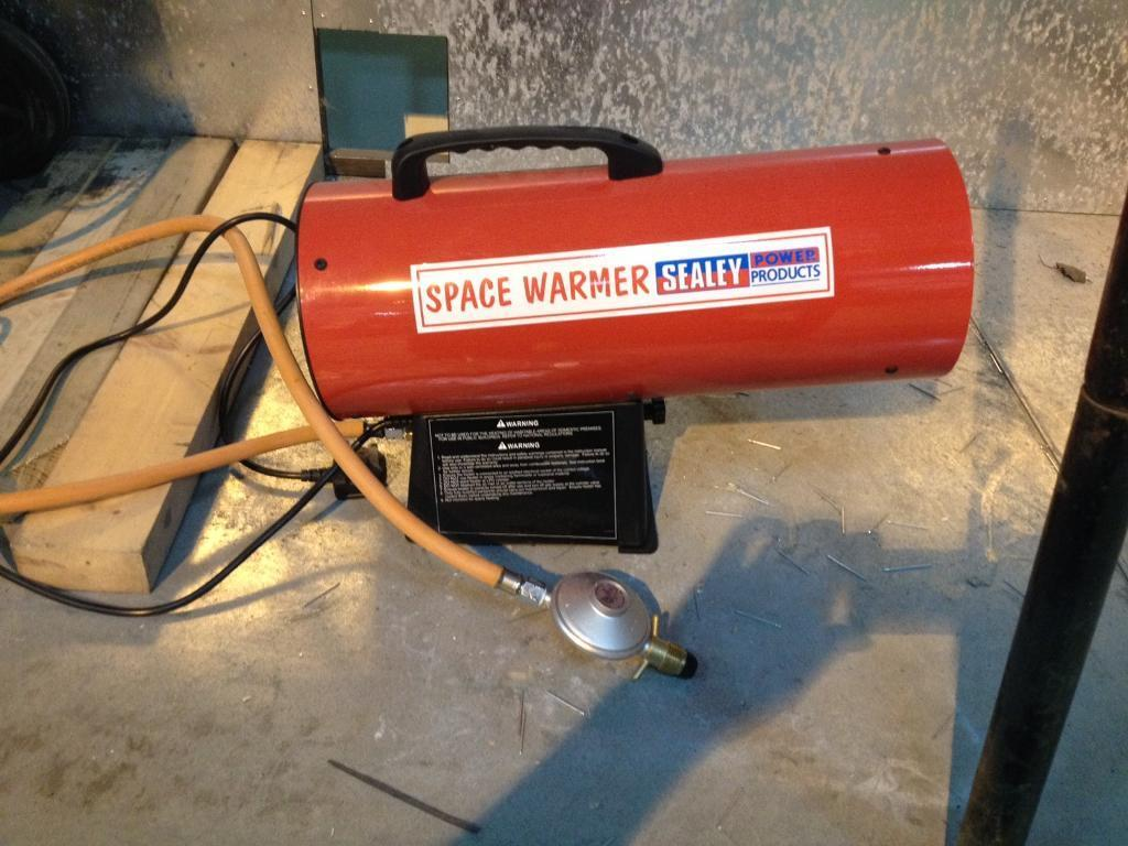 Sealey space heater Gas fired brand new