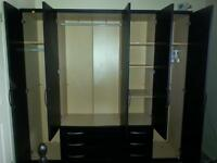 5 doors large wardrobe