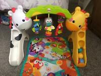 Fisher price grow with me play gym