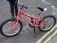 Raleigh girls' mountain bike 'Sunbeam'