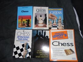 Set of Chess Books