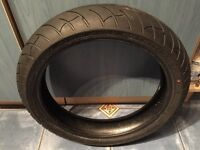 motorcycle tyre - front wheel