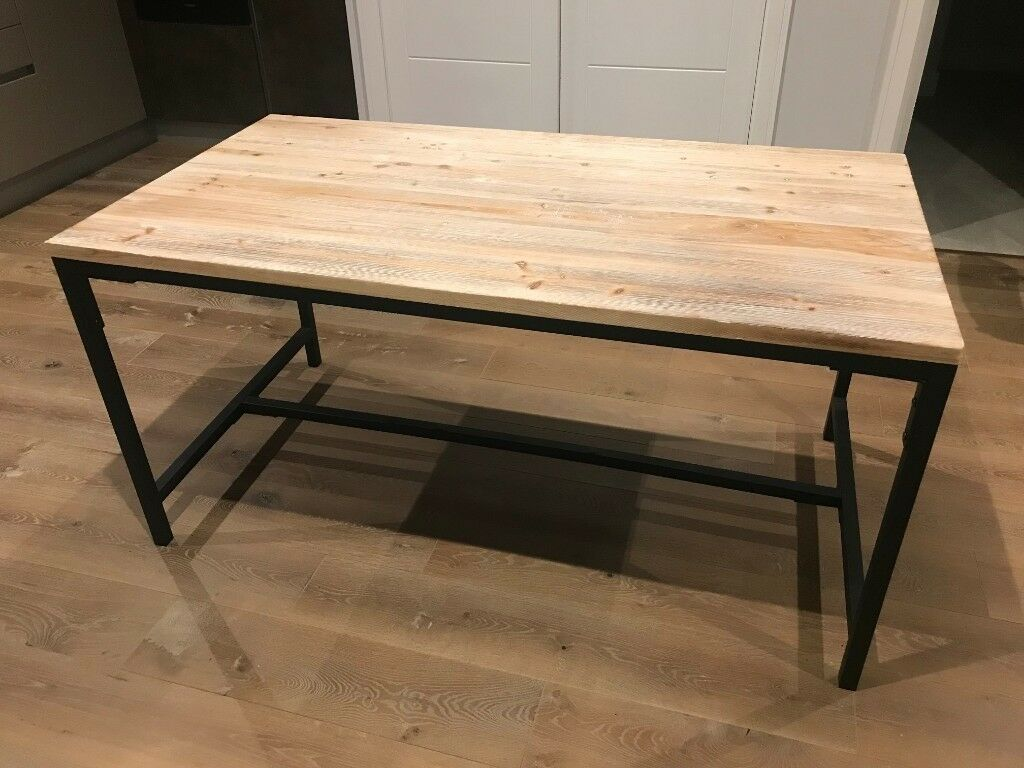 Industrial style dining table | in Hackney, London | Gumtree