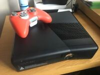 xbox 360 console 250gb with control and psu