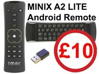 MINIX NEO A2 Lite, Android Remote Air Mouse + Six-Axis Gyroscope & QWERTY Keyboard