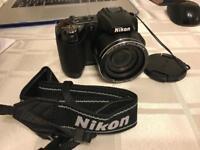 Nikon Coolpix L120 Camera, Memory Card & Bag