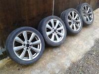 "17"" 4x108 Alloy wheels Ford Focus-Mondeo-Escort-Puma-Fusion"
