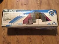 Tri-star 6 person family tent brand new