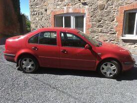 2001 Volkswaggen Bora, Automatic, 1.6 Petrol, 45MPG, MOT'd