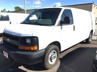 2014 Chevrolet Express 2500 EXTENDED CARGO VAN!  A great find.