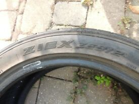 falken 195 45 16 tyre - with 5mm tread - no punctures - clio / fiesta etc