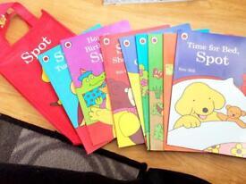 8 Spot Baby books
