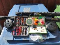 Fly fishing set