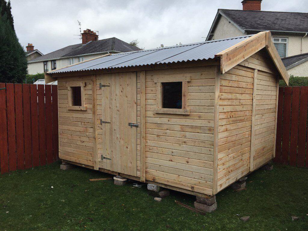 heavy duty garden sheds - Garden Sheds Ni