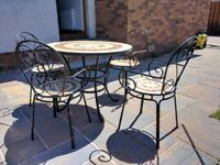 Garden Furniture Table & 4 Chairs REDUCED PRICE Still available if you can see this ad.