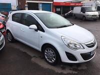 2012 Vauxhall corsa 1.3cdti 1 owner car with full service history 52000miles