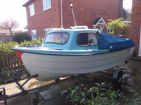 14' Parker Fishing Boat