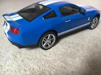 New toy car blue