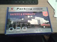 NEW Never used! CISBO Parking Sensor Kit - Black - Boxed as new