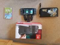 Nintendo switch and Zelda Breath of the wild