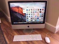 Apple iMac 24' Intel dual core 2.93GHZ CPU, 4GB ram, 1TB hard drive, GeforceGT 120, Boxed