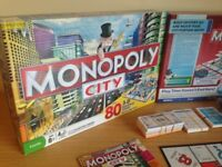 Monopoly City with 3D buildings (boxed & never been used)