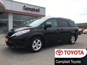 2016 Toyota Sienna LE LOW KM'S V6 BLUETOOTH