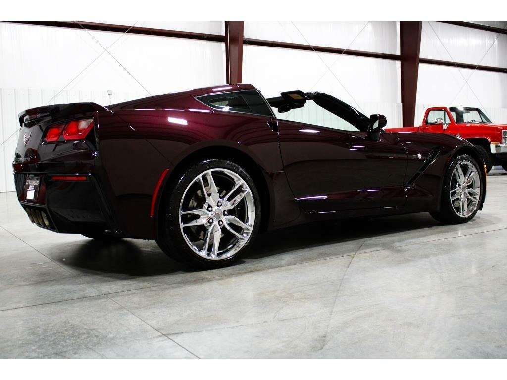2017 Black Chevrolet Corvette Stingray 2LT   C7 Corvette Photo 5