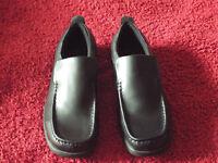 Mens Kangol Black Slip On Shoes, Size 8.5