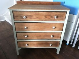Real Wood Chest of Drawers