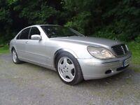 Mercedes Benz S 500 L LWB Limousine Auto P/Plate sat-Nav Leather Amg Alloys ETC