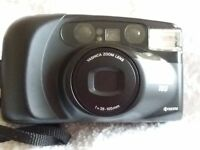 Yashica Zoomate 105. In full working order two batteries included. Soft case included.