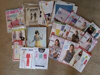 Sewing patterns and Tilly book