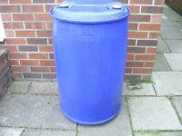 205 Litre Plastic Barrel
