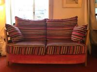ERCOL sofa and matching chair