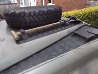 Michelin XZL 7.50X16 mud tyres for Land rover