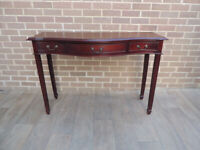 Mahogany Large Console Table (UK Delivery)