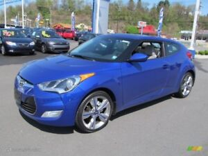 2014 Hyundai Veloster Base 2D Coupe 6sp